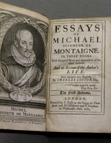 Sex, Torture, and Montaigne