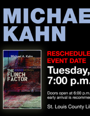 The Flinch Factor Event at the St. Louis County Library