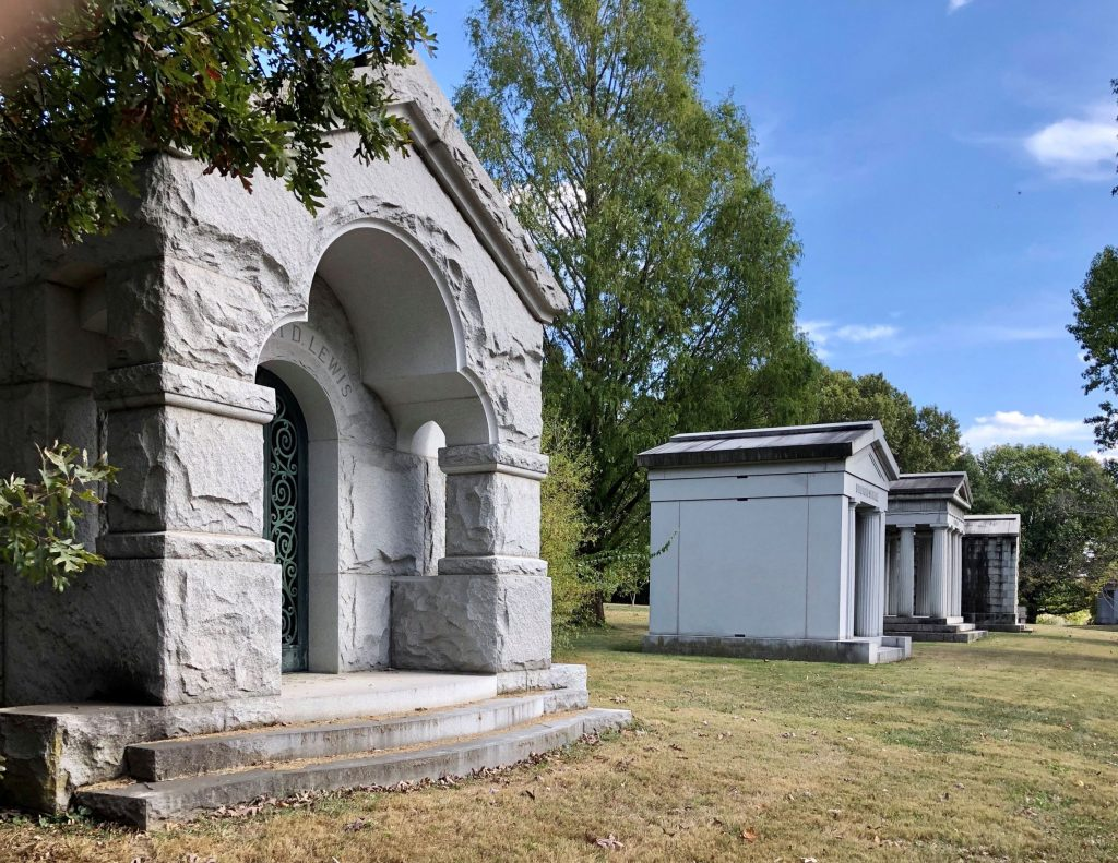 At Bellefontaine Cemeery